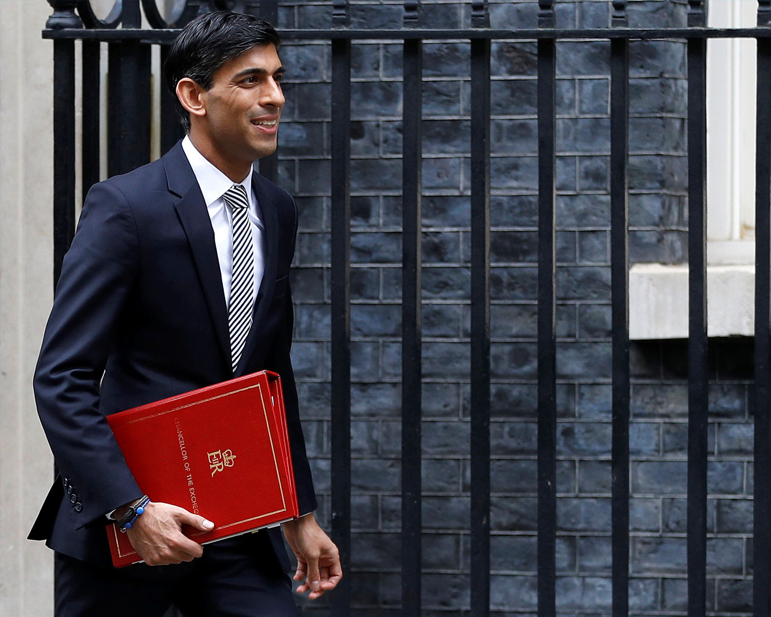 What does the march budget mean for cross border businesses - Chancellor walking with red notebook