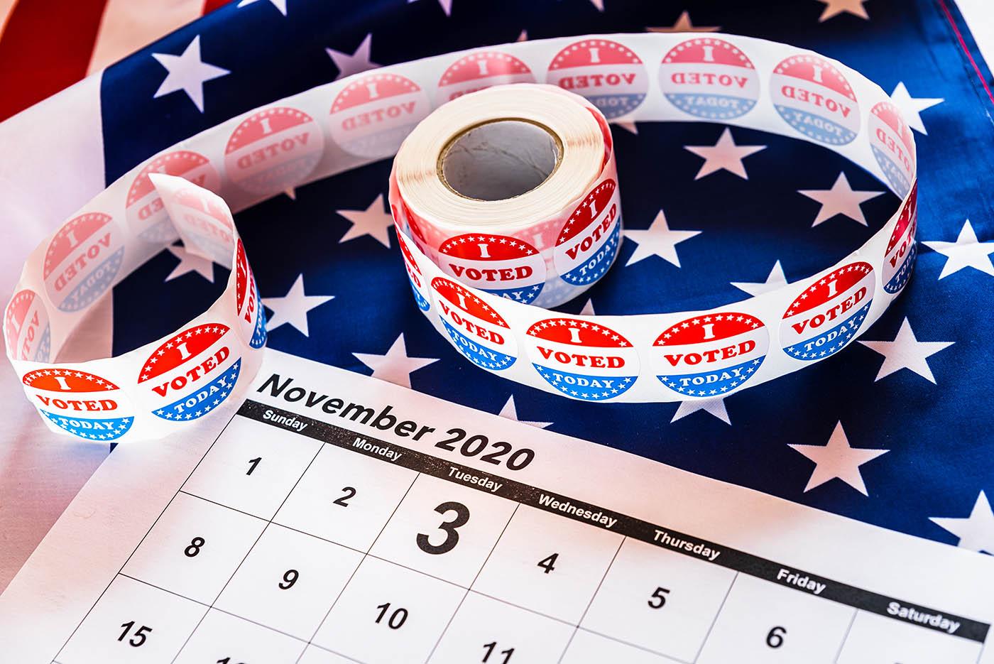 US election calendar